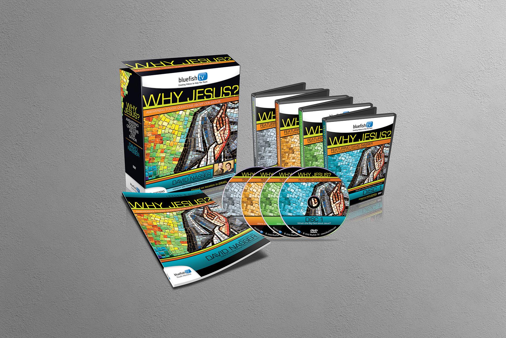 BluefishTV Packaging Design
